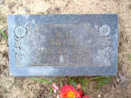 SMITH, W H - Cross County, Arkansas | W H SMITH - Arkansas Gravestone Photos