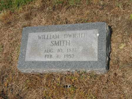 SMITH, WILLIAM DWIGHT - Cross County, Arkansas | WILLIAM DWIGHT SMITH - Arkansas Gravestone Photos