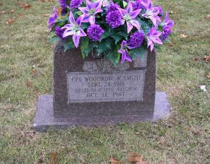 SMITH  (VETERAN WWII, KIA), WOODROW W - Cross County, Arkansas | WOODROW W SMITH  (VETERAN WWII, KIA) - Arkansas Gravestone Photos
