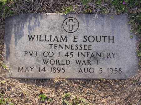 SOUTH (VETERAN WWI), WILLIAM E - Cross County, Arkansas | WILLIAM E SOUTH (VETERAN WWI) - Arkansas Gravestone Photos