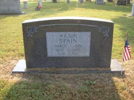 SPAIN, WILSON - Cross County, Arkansas   WILSON SPAIN - Arkansas Gravestone Photos