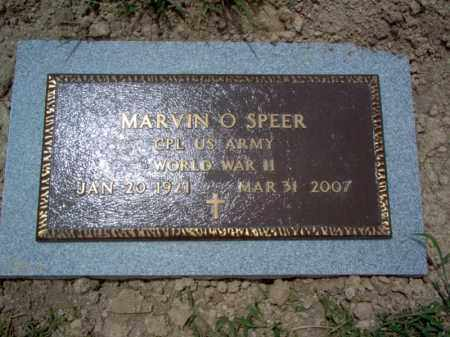 SPEER (VETERAN WWII), MARVIN O'BRINT - Cross County, Arkansas | MARVIN O'BRINT SPEER (VETERAN WWII) - Arkansas Gravestone Photos