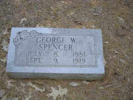 SPENCER, GEORGE W - Cross County, Arkansas | GEORGE W SPENCER - Arkansas Gravestone Photos