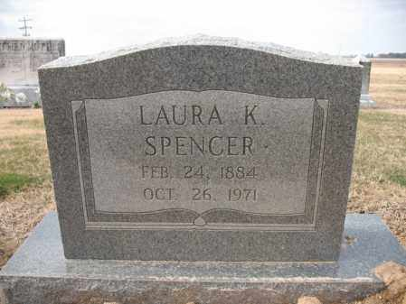 SPENCER, LAURA K - Cross County, Arkansas | LAURA K SPENCER - Arkansas Gravestone Photos