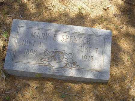 SPENCER, MARY E - Cross County, Arkansas | MARY E SPENCER - Arkansas Gravestone Photos
