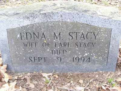 STACY, EDNA - Cross County, Arkansas | EDNA STACY - Arkansas Gravestone Photos