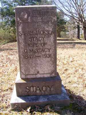 JACKSON STACY, SARAH - Cross County, Arkansas | SARAH JACKSON STACY - Arkansas Gravestone Photos