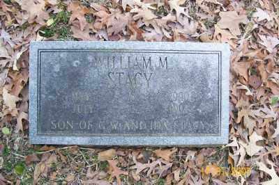 STACY, WILLIAM M. - Cross County, Arkansas | WILLIAM M. STACY - Arkansas Gravestone Photos