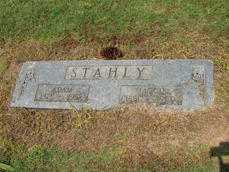 STAHLY, ADAM - Cross County, Arkansas | ADAM STAHLY - Arkansas Gravestone Photos