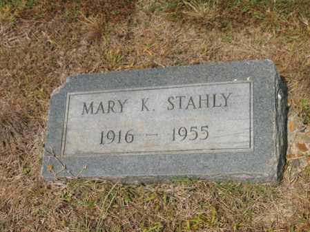 STAHLY, MARY K - Cross County, Arkansas | MARY K STAHLY - Arkansas Gravestone Photos