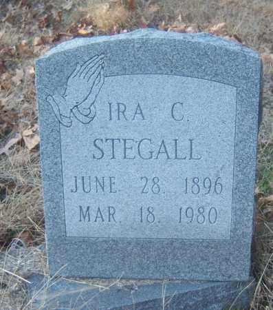STEGALL, IRA C - Cross County, Arkansas | IRA C STEGALL - Arkansas Gravestone Photos