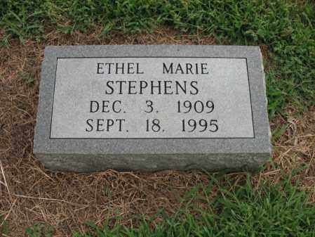 STEPHENS, ETHEL MARIE - Cross County, Arkansas | ETHEL MARIE STEPHENS - Arkansas Gravestone Photos