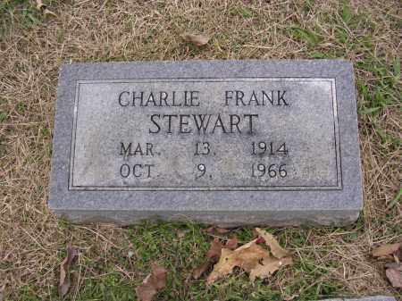 STEWART, CHARLIE FRANK - Cross County, Arkansas | CHARLIE FRANK STEWART - Arkansas Gravestone Photos