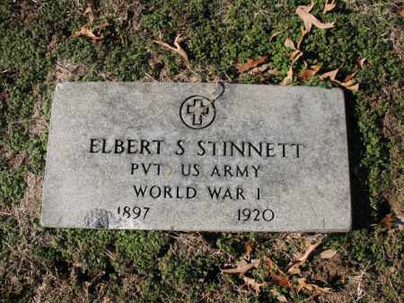 STINNETT (VETERAN WWI), ELBERT S - Cross County, Arkansas | ELBERT S STINNETT (VETERAN WWI) - Arkansas Gravestone Photos