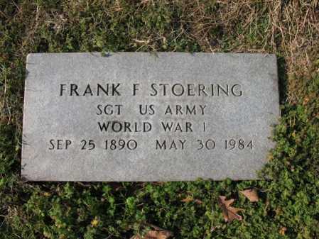 STOERING (VETERAN WWI), FRANK - Cross County, Arkansas | FRANK STOERING (VETERAN WWI) - Arkansas Gravestone Photos