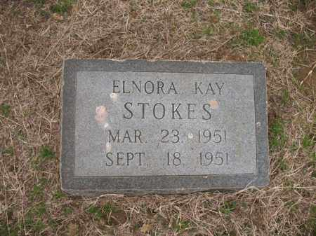 STOKES, ELNORA KAY - Cross County, Arkansas | ELNORA KAY STOKES - Arkansas Gravestone Photos