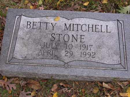 MITCHELL STONE, BETTY - Cross County, Arkansas | BETTY MITCHELL STONE - Arkansas Gravestone Photos