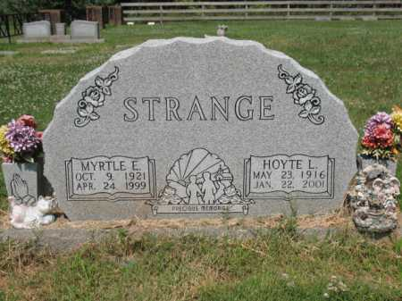STRANGE, HOYTE L - Cross County, Arkansas | HOYTE L STRANGE - Arkansas Gravestone Photos