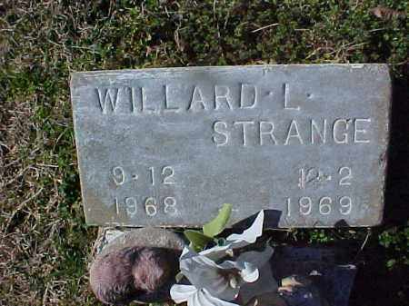 STRANGE, WILLARD L - Cross County, Arkansas | WILLARD L STRANGE - Arkansas Gravestone Photos