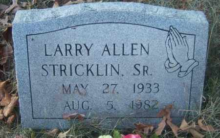 STRICKLIN, SR, LARRY ALLEN - Cross County, Arkansas | LARRY ALLEN STRICKLIN, SR - Arkansas Gravestone Photos
