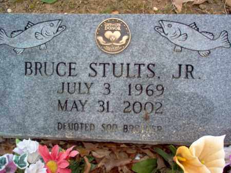 STULTS, JR., BRUCE - Cross County, Arkansas | BRUCE STULTS, JR. - Arkansas Gravestone Photos