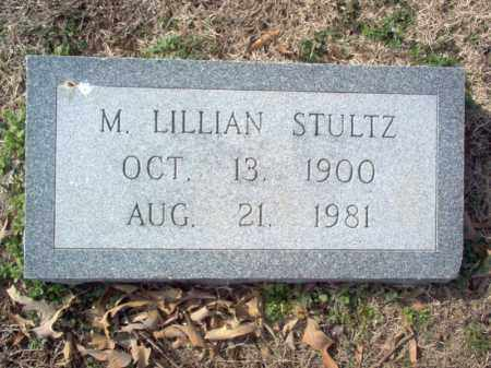 STULTZ, M LILLIAN - Cross County, Arkansas | M LILLIAN STULTZ - Arkansas Gravestone Photos