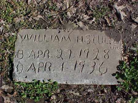 STULTZ, WILLIAM H - Cross County, Arkansas | WILLIAM H STULTZ - Arkansas Gravestone Photos
