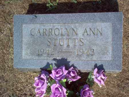 STUTTS, CARROLYN ANN - Cross County, Arkansas | CARROLYN ANN STUTTS - Arkansas Gravestone Photos