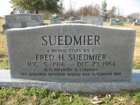 SUEDMIER, FRED H - Cross County, Arkansas | FRED H SUEDMIER - Arkansas Gravestone Photos