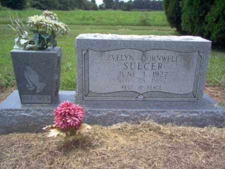 SULCER, EVELYN - Cross County, Arkansas | EVELYN SULCER - Arkansas Gravestone Photos
