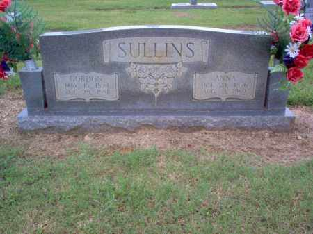 SULLINS, ANNA - Cross County, Arkansas | ANNA SULLINS - Arkansas Gravestone Photos