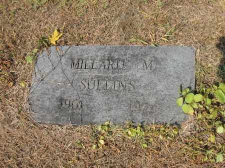 SULLINS, MILLARD M - Cross County, Arkansas | MILLARD M SULLINS - Arkansas Gravestone Photos