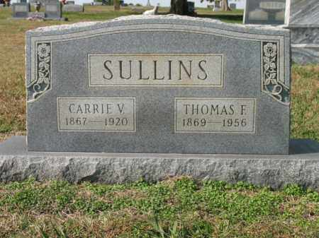 SULLINS, THOMAS F - Cross County, Arkansas | THOMAS F SULLINS - Arkansas Gravestone Photos