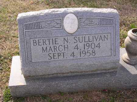 SULLIVAN, BERTIE N - Cross County, Arkansas | BERTIE N SULLIVAN - Arkansas Gravestone Photos