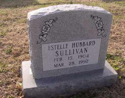 HUBBARD SULLIVAN, ESTELLE - Cross County, Arkansas | ESTELLE HUBBARD SULLIVAN - Arkansas Gravestone Photos