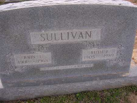 SULLIVAN, JOHN L - Cross County, Arkansas | JOHN L SULLIVAN - Arkansas Gravestone Photos
