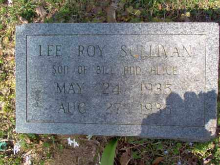 SULLIVAN, LEE ROY - Cross County, Arkansas | LEE ROY SULLIVAN - Arkansas Gravestone Photos