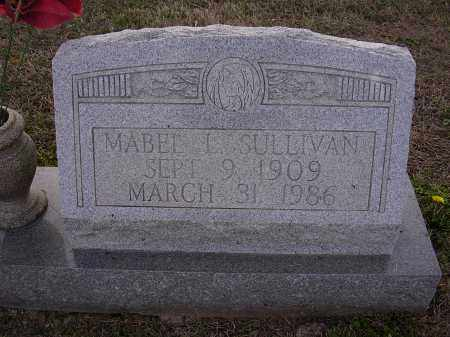 SULLIVAN, MABEL L - Cross County, Arkansas | MABEL L SULLIVAN - Arkansas Gravestone Photos