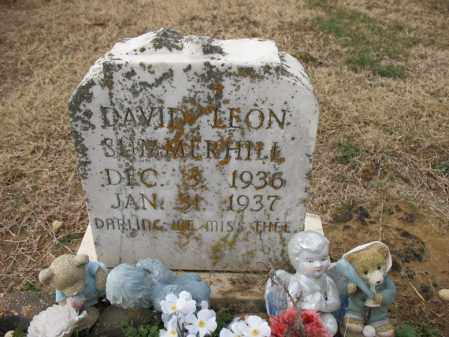 SUMMERHILL, DAVID LEON - Cross County, Arkansas | DAVID LEON SUMMERHILL - Arkansas Gravestone Photos