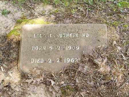 SUTHERLAND, LELA L. - Cross County, Arkansas | LELA L. SUTHERLAND - Arkansas Gravestone Photos