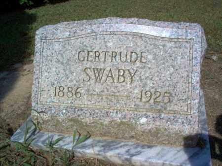 SWABY, GERTRUDE - Cross County, Arkansas | GERTRUDE SWABY - Arkansas Gravestone Photos