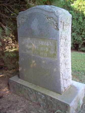 SWABY, JOHN G - Cross County, Arkansas | JOHN G SWABY - Arkansas Gravestone Photos