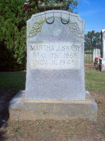 SWABY, MARTHA J - Cross County, Arkansas | MARTHA J SWABY - Arkansas Gravestone Photos
