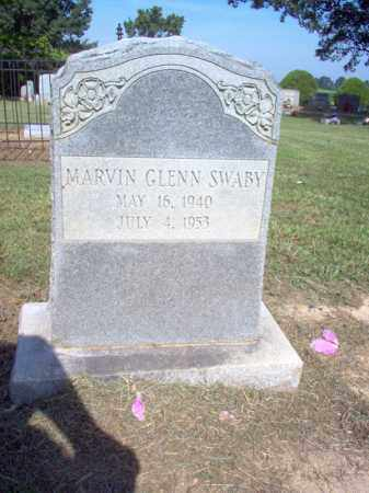 SWABY, MARVIN GLENN - Cross County, Arkansas | MARVIN GLENN SWABY - Arkansas Gravestone Photos