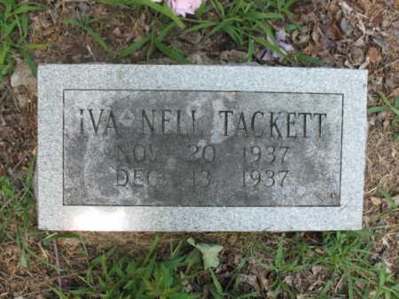TACKETT, IVA NELL - Cross County, Arkansas | IVA NELL TACKETT - Arkansas Gravestone Photos