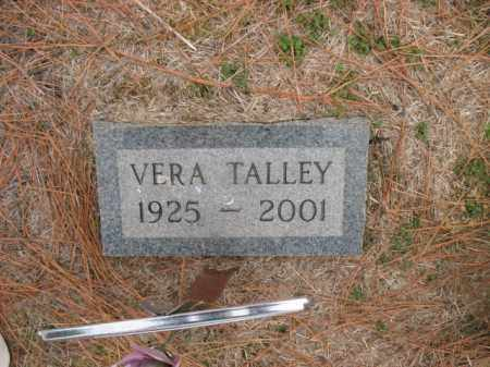 TALLEY, VERA - Cross County, Arkansas | VERA TALLEY - Arkansas Gravestone Photos