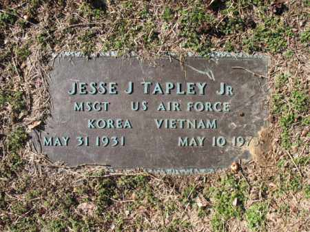 TAPLEY, JR (VETERAN 2 WARS), JESSE J - Cross County, Arkansas | JESSE J TAPLEY, JR (VETERAN 2 WARS) - Arkansas Gravestone Photos