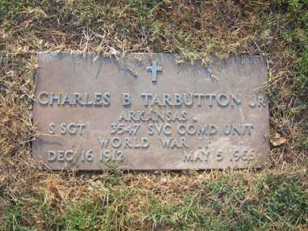TARBUTTON, JR (VETERAN WWII), CHARLES B - Cross County, Arkansas | CHARLES B TARBUTTON, JR (VETERAN WWII) - Arkansas Gravestone Photos