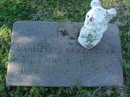 TARKINGTON, JR, CARL R - Cross County, Arkansas | CARL R TARKINGTON, JR - Arkansas Gravestone Photos
