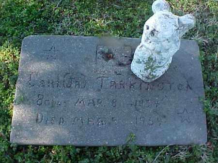 TARKINGTON, JR, CARL R - Cross County, Arkansas | CARL R TARKINGTON, JR - Arkansas Gravestone Photos